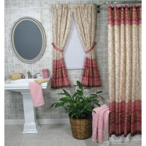 Lindas Cortinas De Ba O Bathroom Curtains Decorar