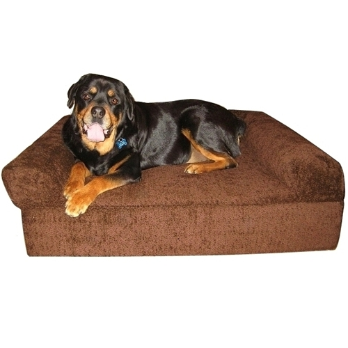 Supreme Bay Brown Bolster Bed