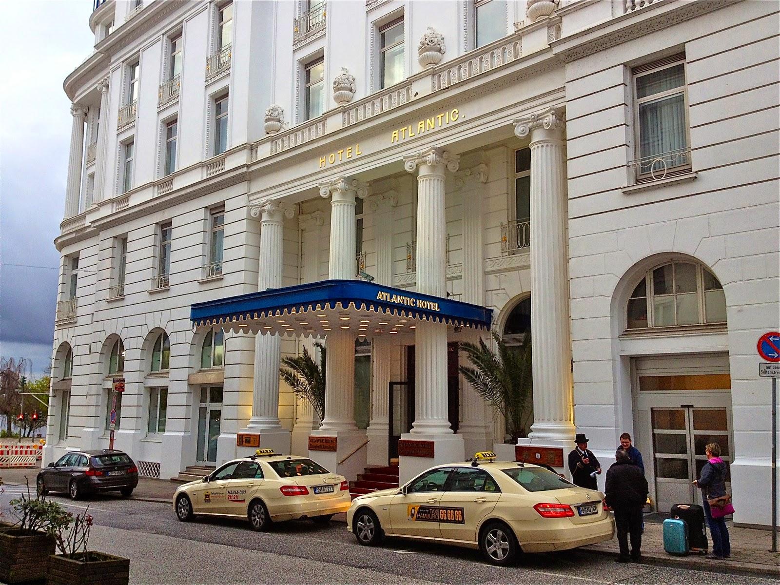 Picture of the Atlantic Kempinski Hotel Hamburg.