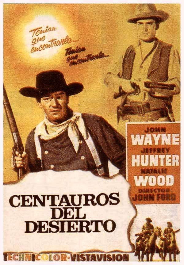 Resultado de imagen para Más corazón que odio / Centauros del desierto (1956)