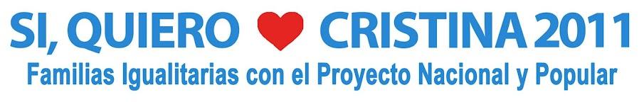 Si, quiero ! Cristina 2011