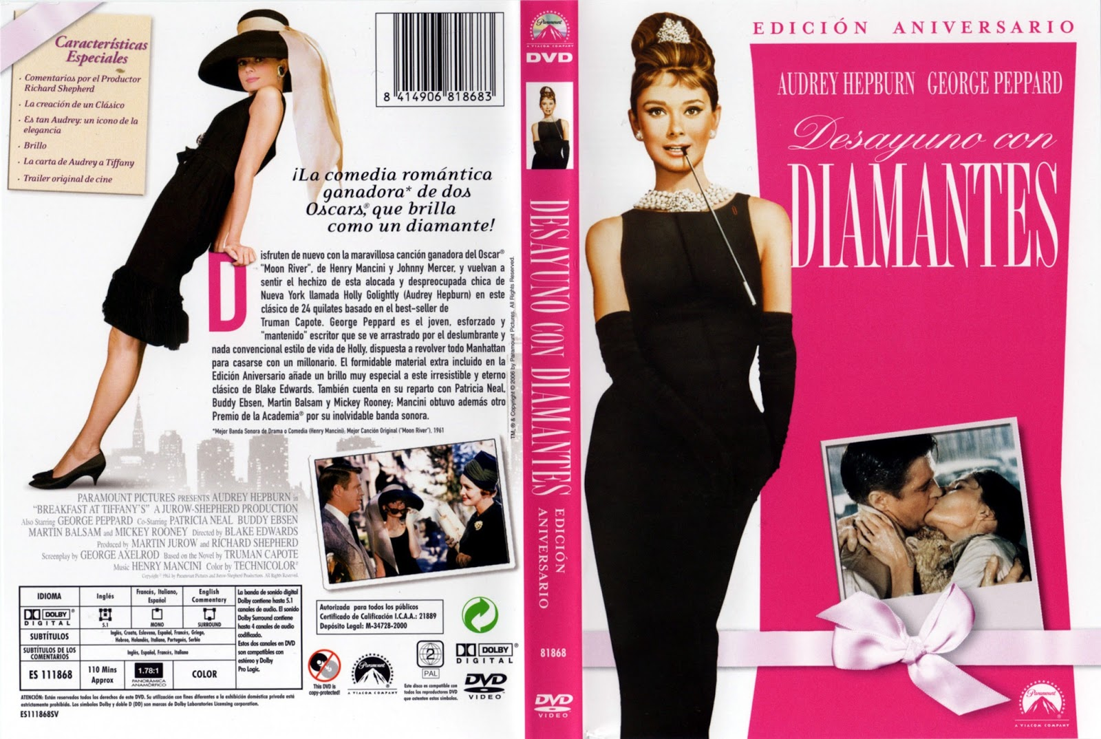 Henry Mancini Breakfast At Tiffanys Music From The Motion Picture Score