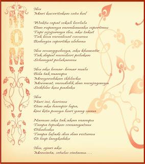 Kata Kata Ucapan Selamat Hari Ibu 2013