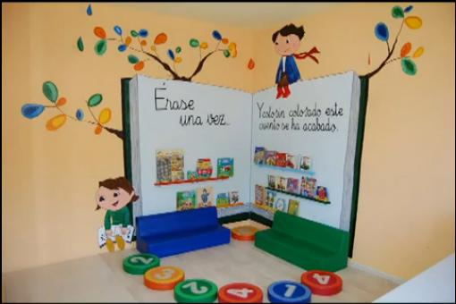 Un libro bajo mi almohada enlaces webs bloque v for Decoracion de espacios de preescolar