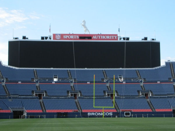 Sports In Denver A Tour Of Sports Authority Field At Mile