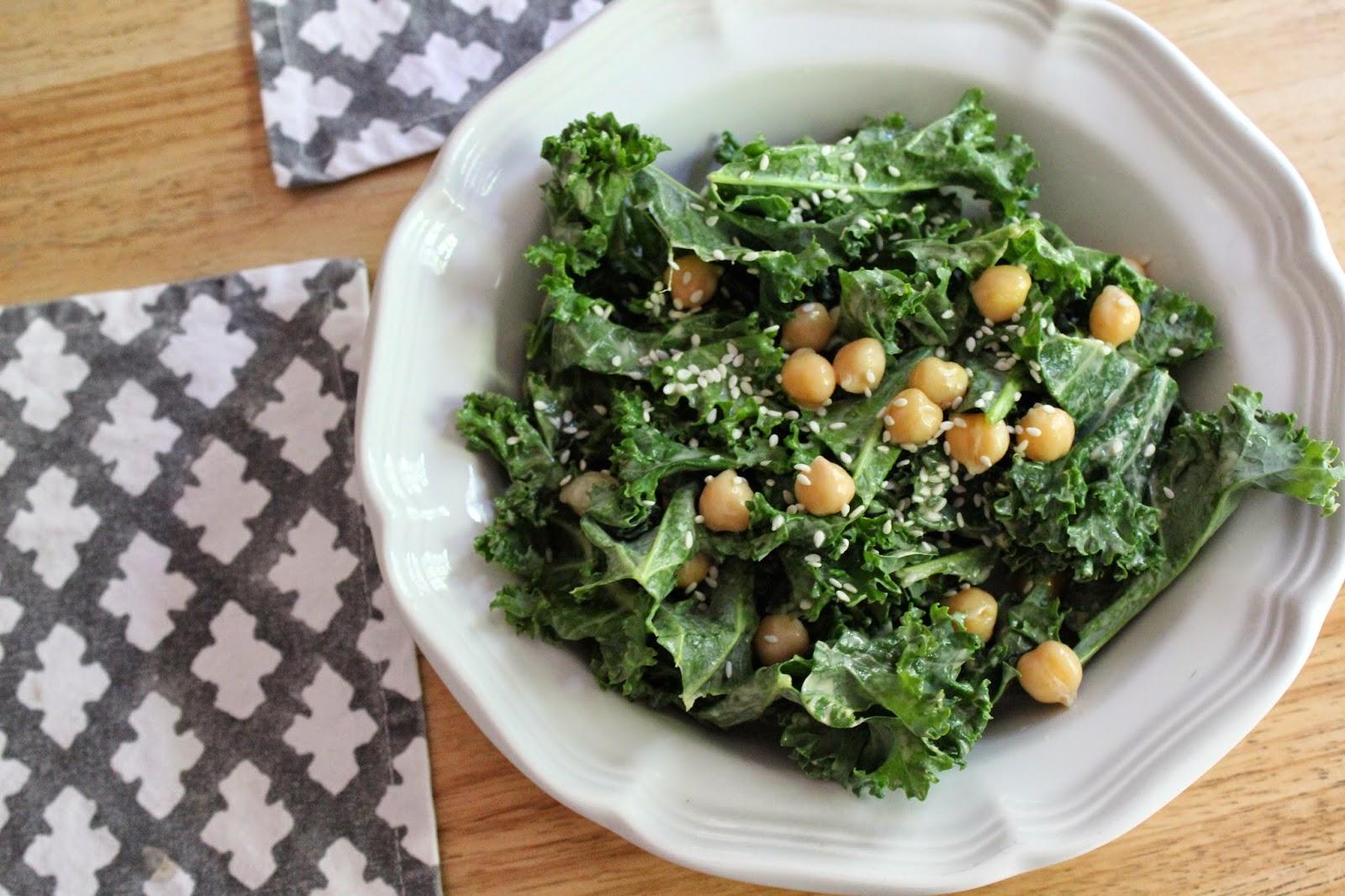 good gracious ______: simple sesame kale salad