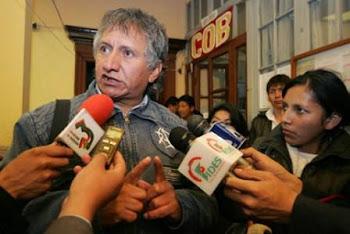Jaime Solares rechazó a secas la suspensión de las medidas que presionan por el aumento salarial