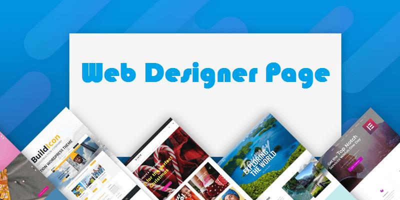 Web Designer Page