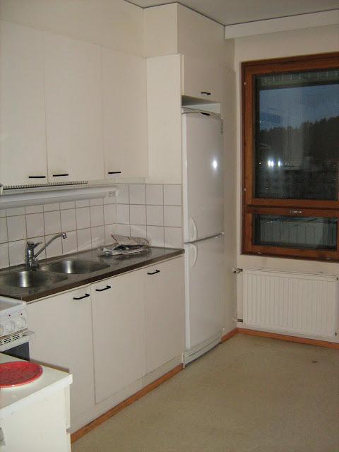 vuokra-asunnon keittiö