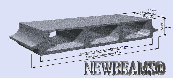 plancher 16 4 newbeams. Black Bedroom Furniture Sets. Home Design Ideas