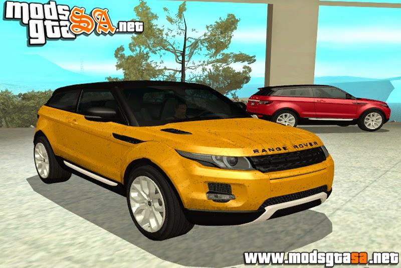SA - Range Rover Evoque 2012