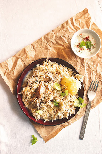 easy white chicken pulao method with step by step pictures