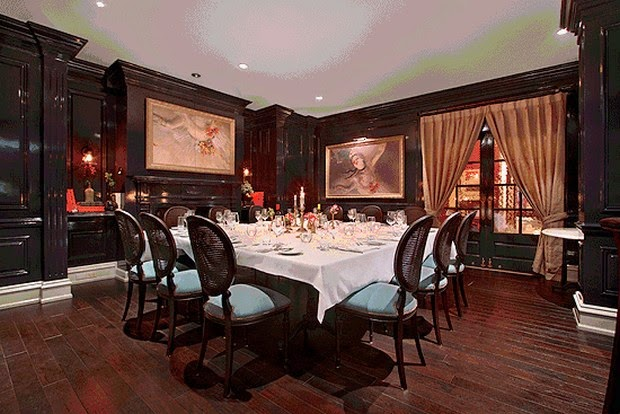 Best Private Dining Rooms In Nyc 2012