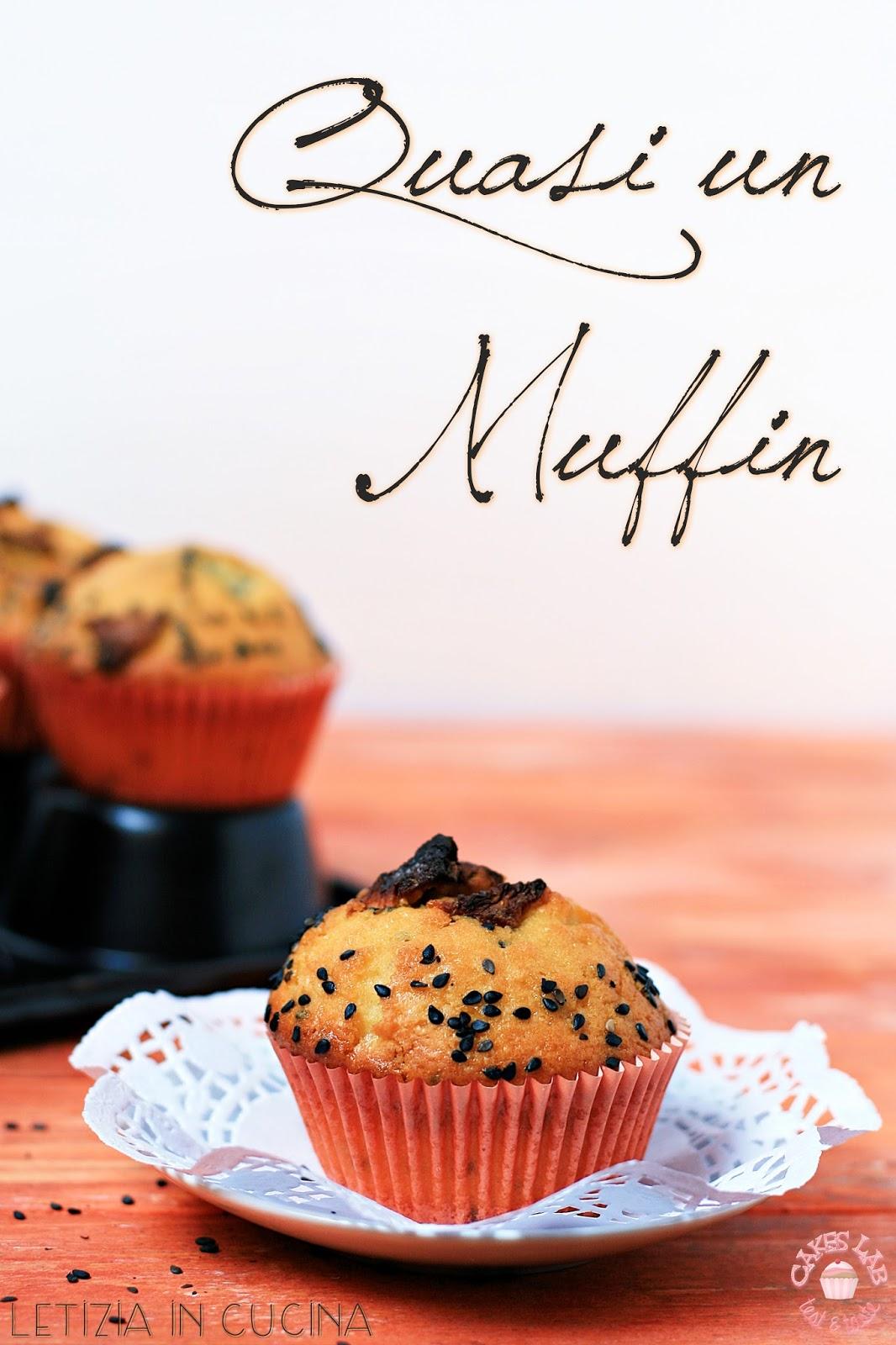Letizia in Cucina: Quasi un muffin all\'ananas e sesamo ... Cakes Lab ...