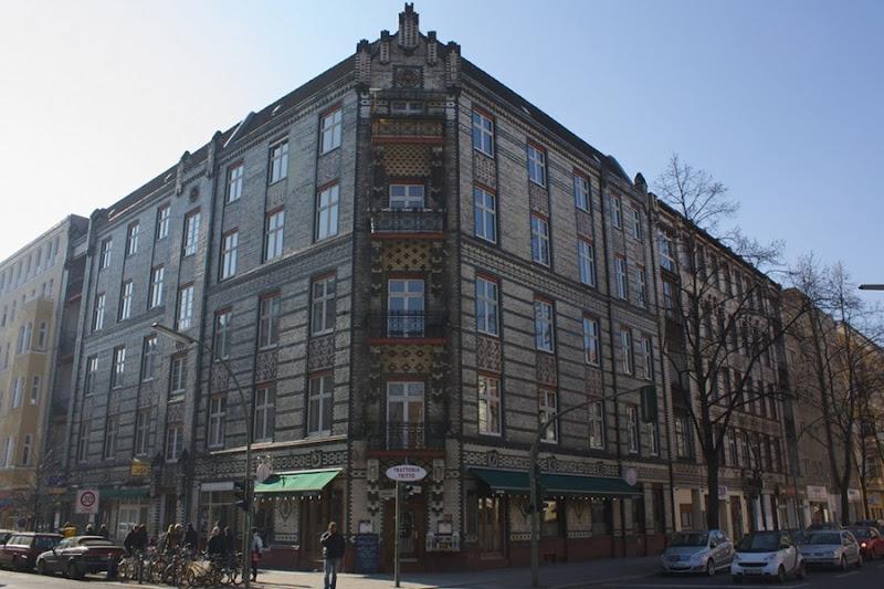 Fachada de un edificio en Schöneberg