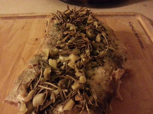 Pork Tenderloin with Rosemary and Garlic