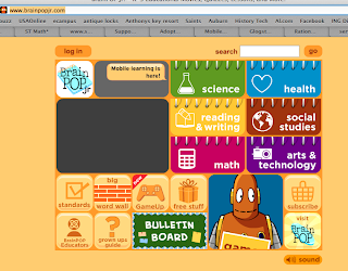 brainpopjr screen shot