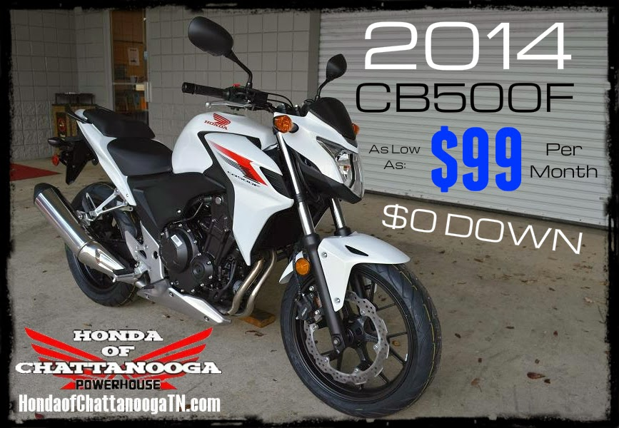 2014 CB500F SALE Prices Too Low To Advertise At Honda Of Chattanooga!