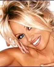 Pamela Anderson, osmijeh download besplatne slike pozadine za mobitele
