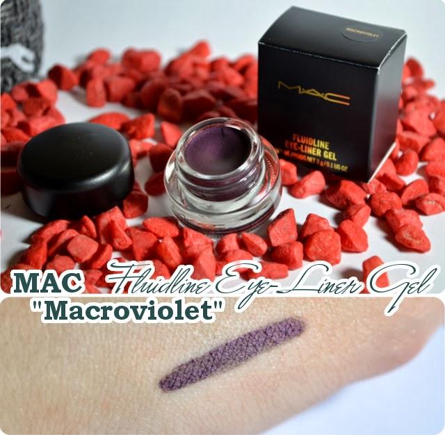 Review MAC Divine Night Holiday Collection 2013 - Fluidline Eye-Liner Gel MACROVIOLET