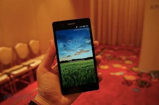 Pantalla del Sony Xperia Z