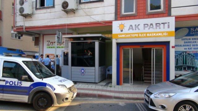AKP Sancaktepe İlçe Başkanlığı bomba alarmı!