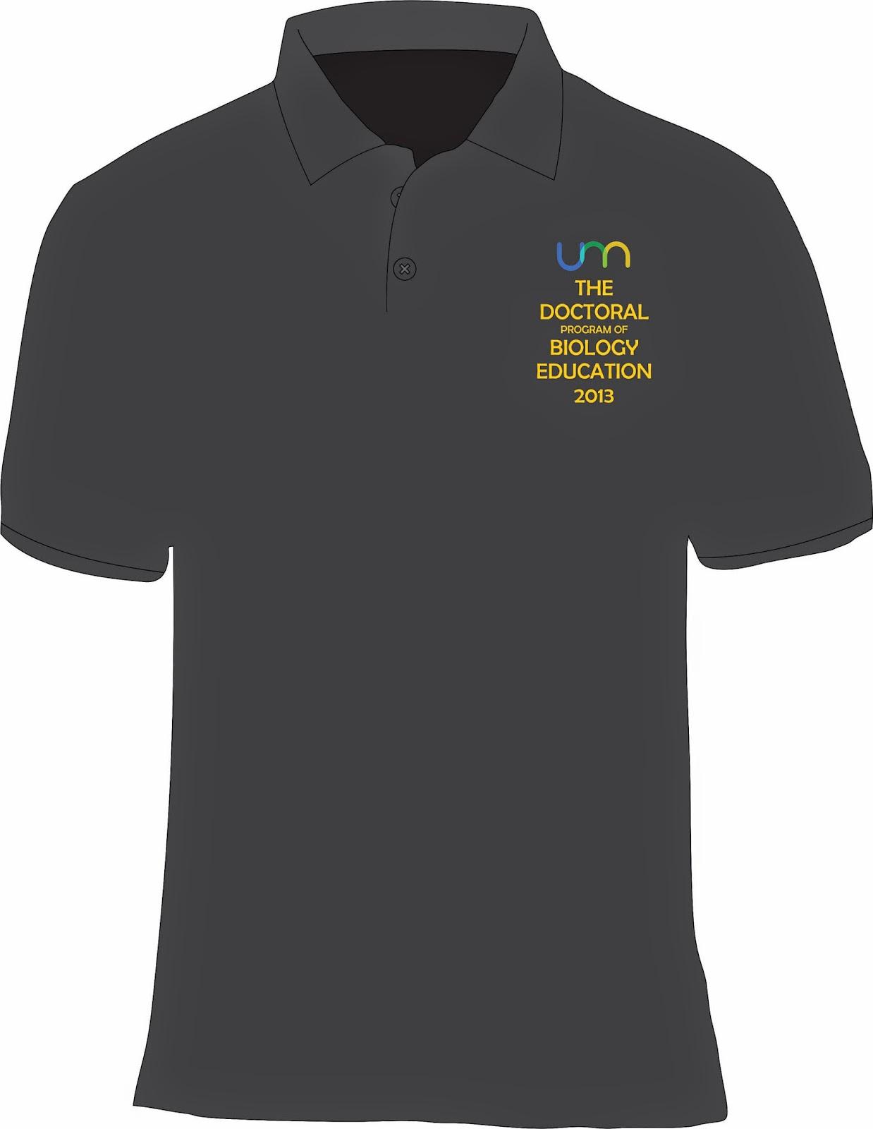 Contoh desain t shirt kelas - Contoh Desain Kaos Polo Tampak Depan Untuk Kelas Komunitas