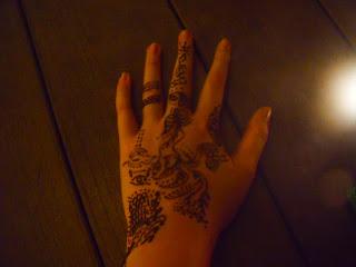 henna design from an armenian