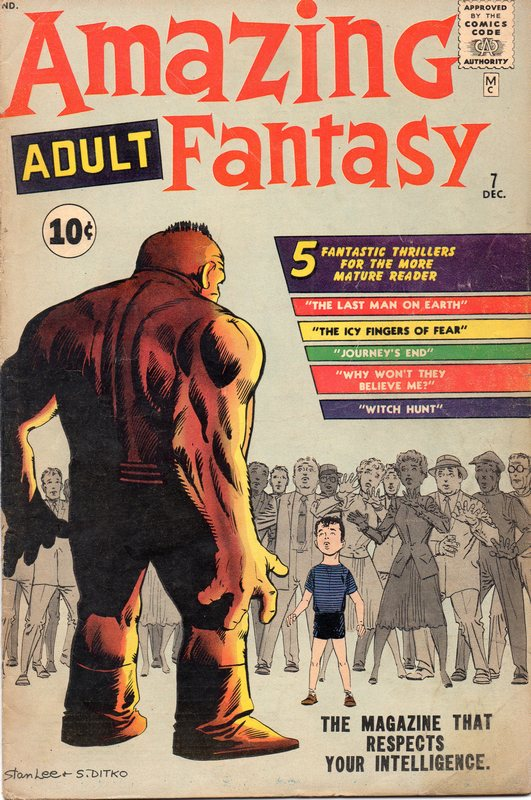 AMAZING ADULT FANTASY #7. The first issue of the revamped, retitled AMAZING ...