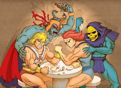  Thundercats on He Man E Lion Quem Sera Que Vence He Man Conta Com A Ajuda De Mun Ra E