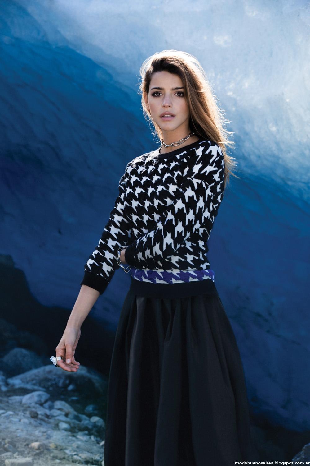 Moda invierno 2014 Sweaters Falabella Argentina.