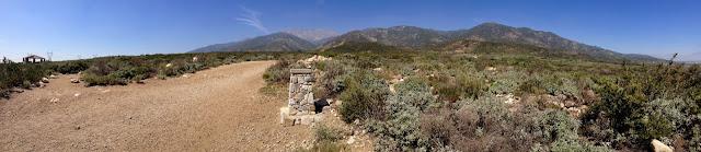 View north, North Etiwanda Reserve, Rancho Cucamonga