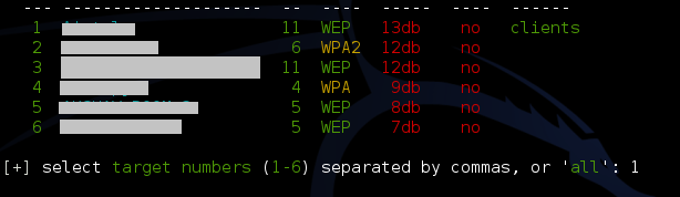 Wifite hacking wifi the easy way kali linux kali linux you can also select all and then go take a nap or maybe go to sleep when you wake up you might be hacking all the wifi passwords in front of you ccuart Images