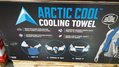 Arctic Cool Instant Cooling Towel to keep cool