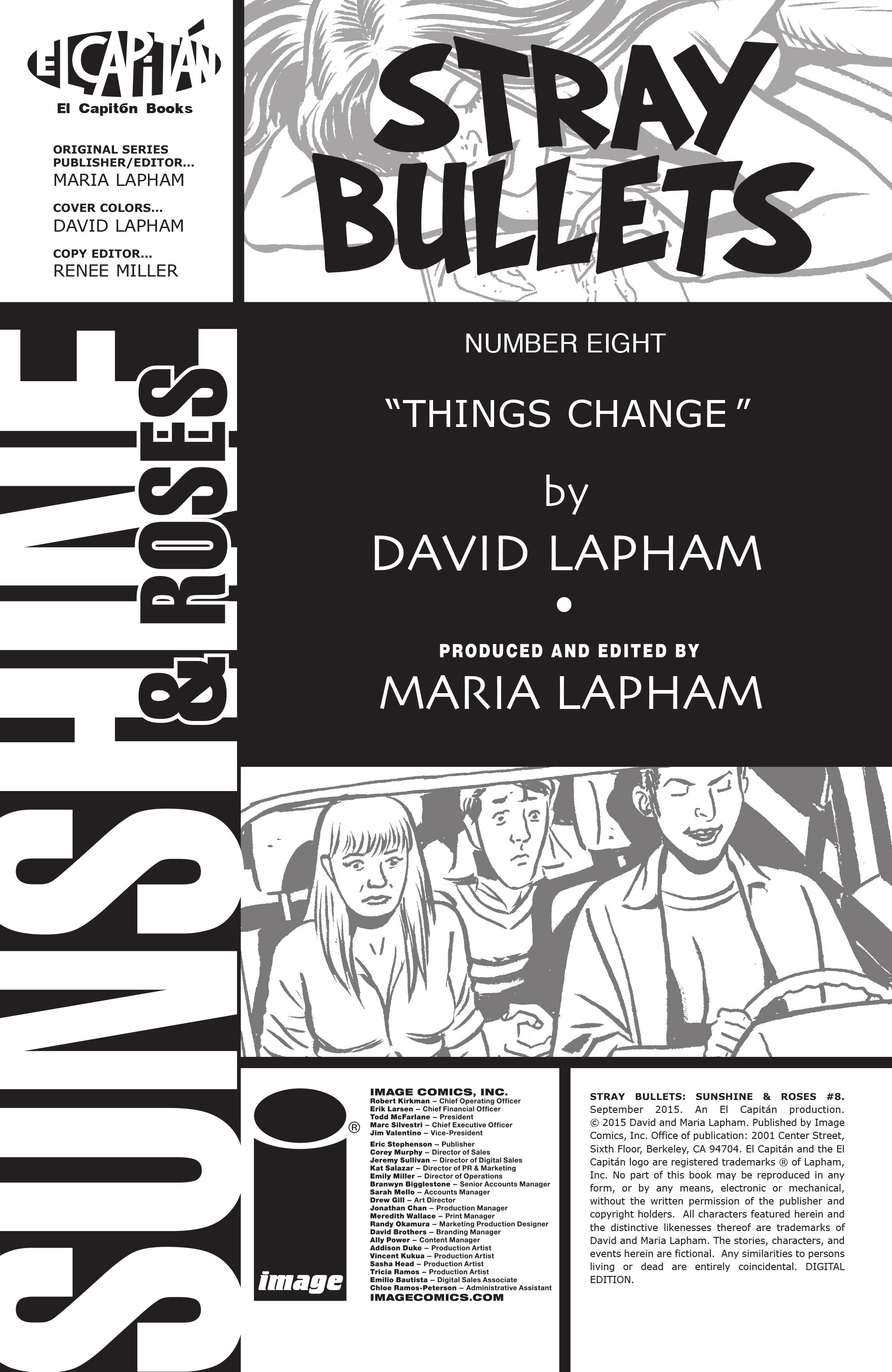Read online Stray Bullets: Sunshine & Roses comic -  Issue #8 - 31