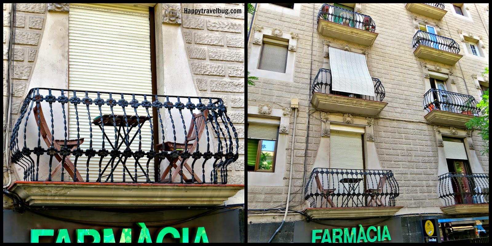 Barcelona, Spain balcony