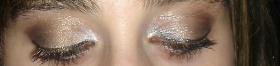 Make up Dourado e Castanho Simples