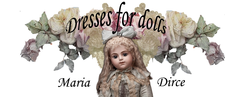 Dresses for dolls Maria Dirce