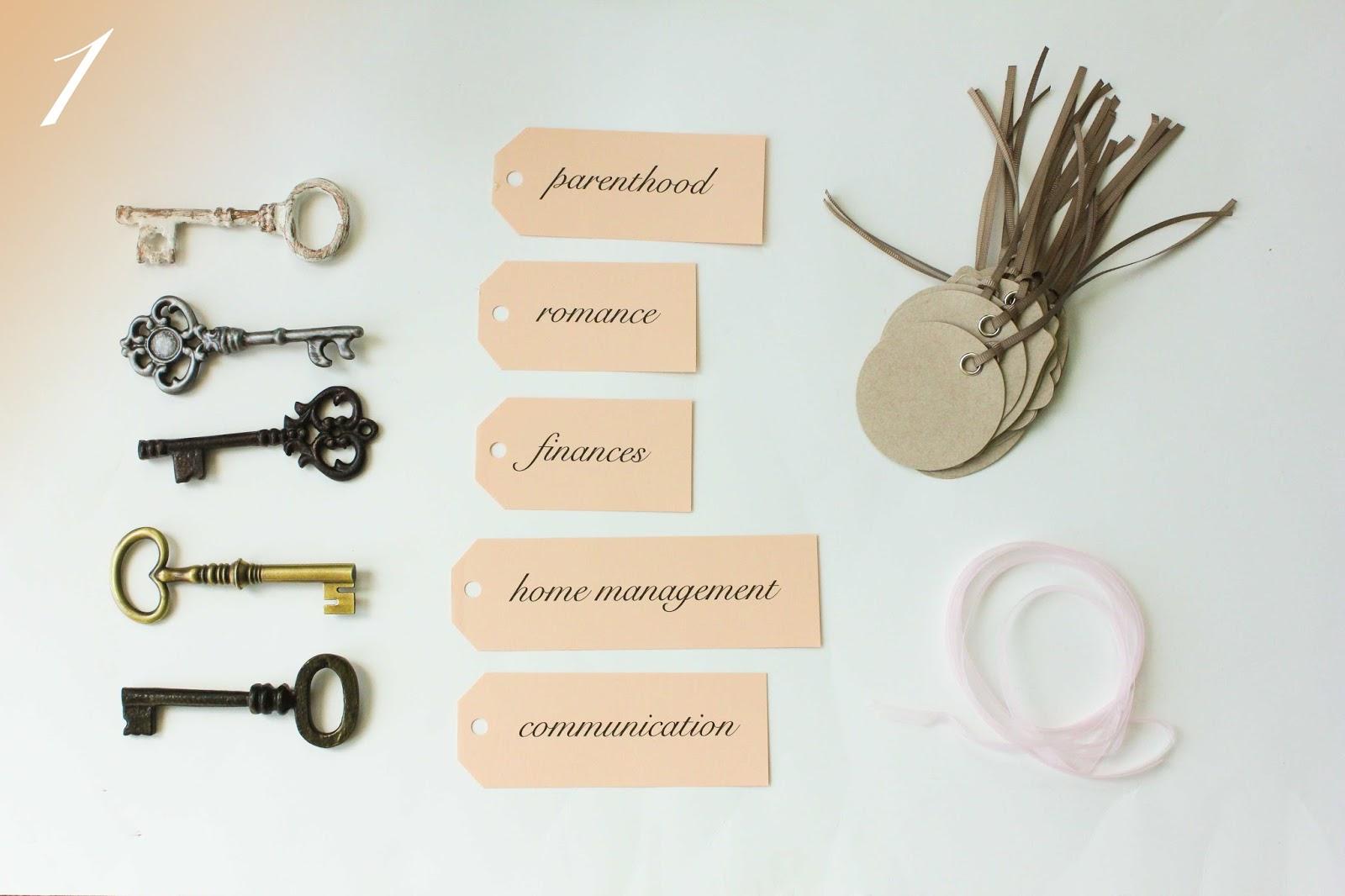 key bridal shower ideas