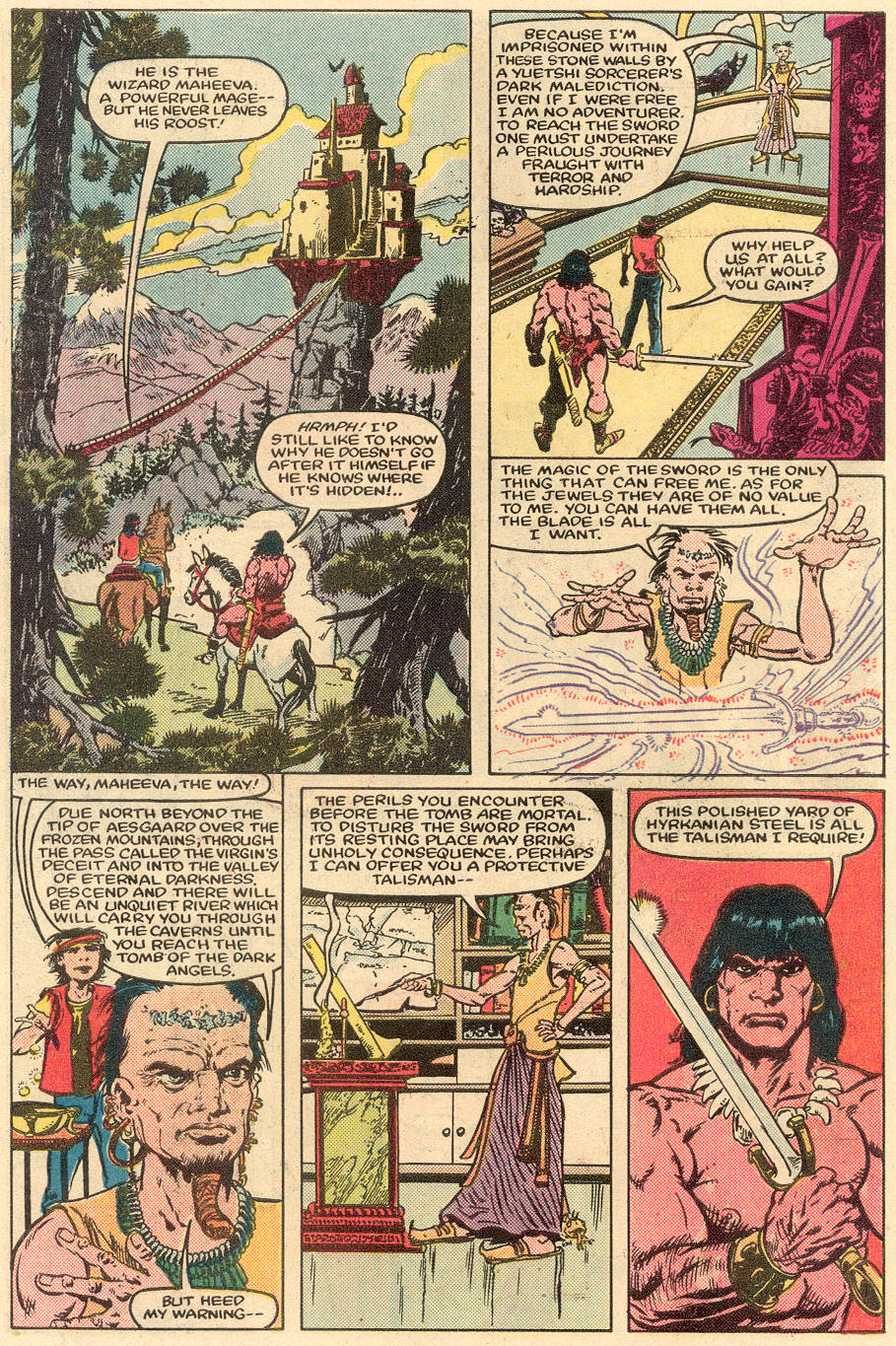 Conan the Barbarian (1970) Issue #164 #176 - English 5