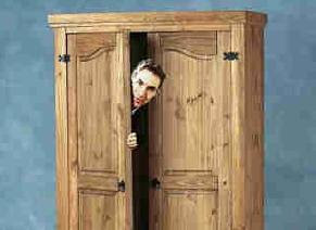 Coming out of the closet