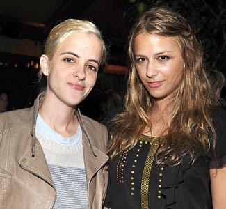 Charlotte and Samantha, Charlotte's twin, Ronson Twins