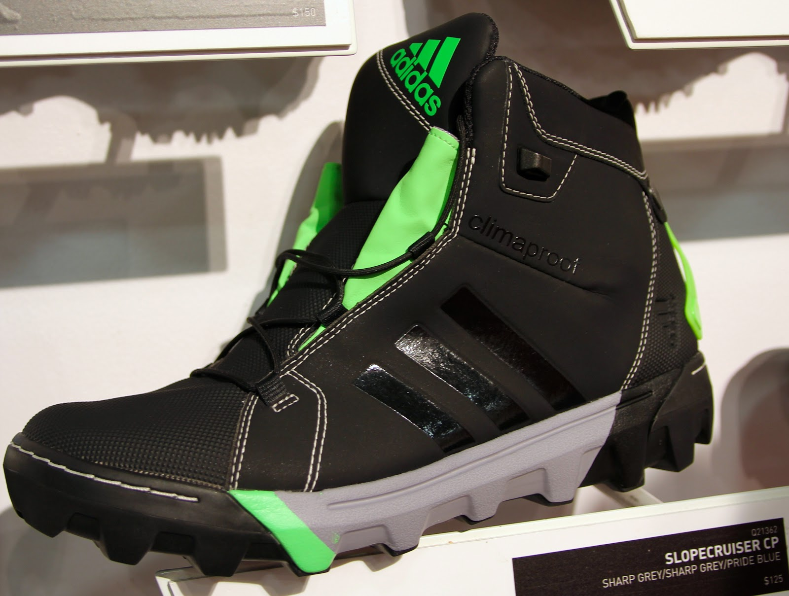 Slopecruiser CP-$125-same features as above in Black/Ray Green
