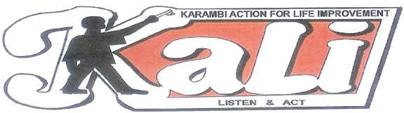 Karambi Action for Life Improvement (KALI) KASESE