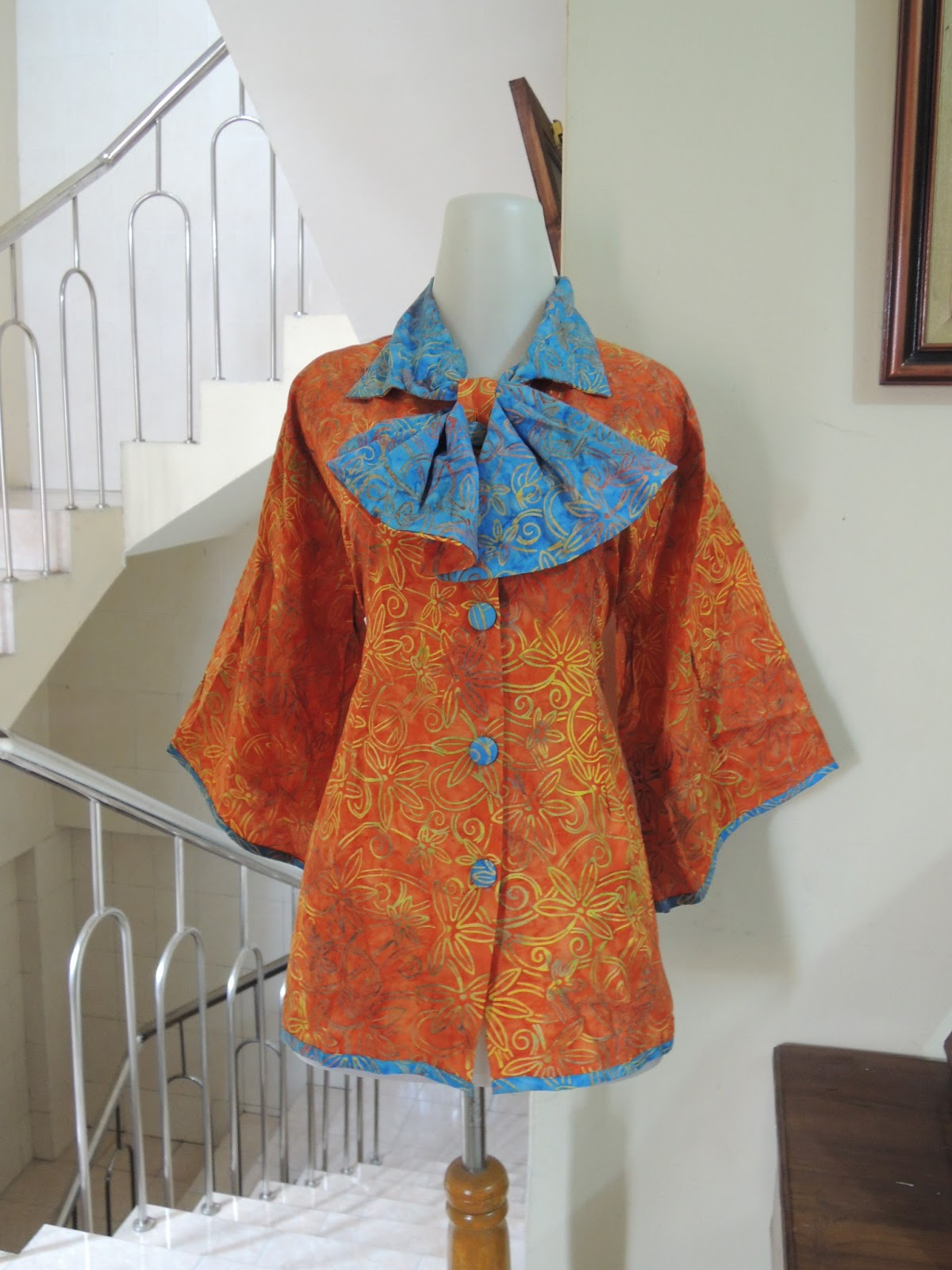 Palastri Shop Batik Hem Blus Dress Koleksi