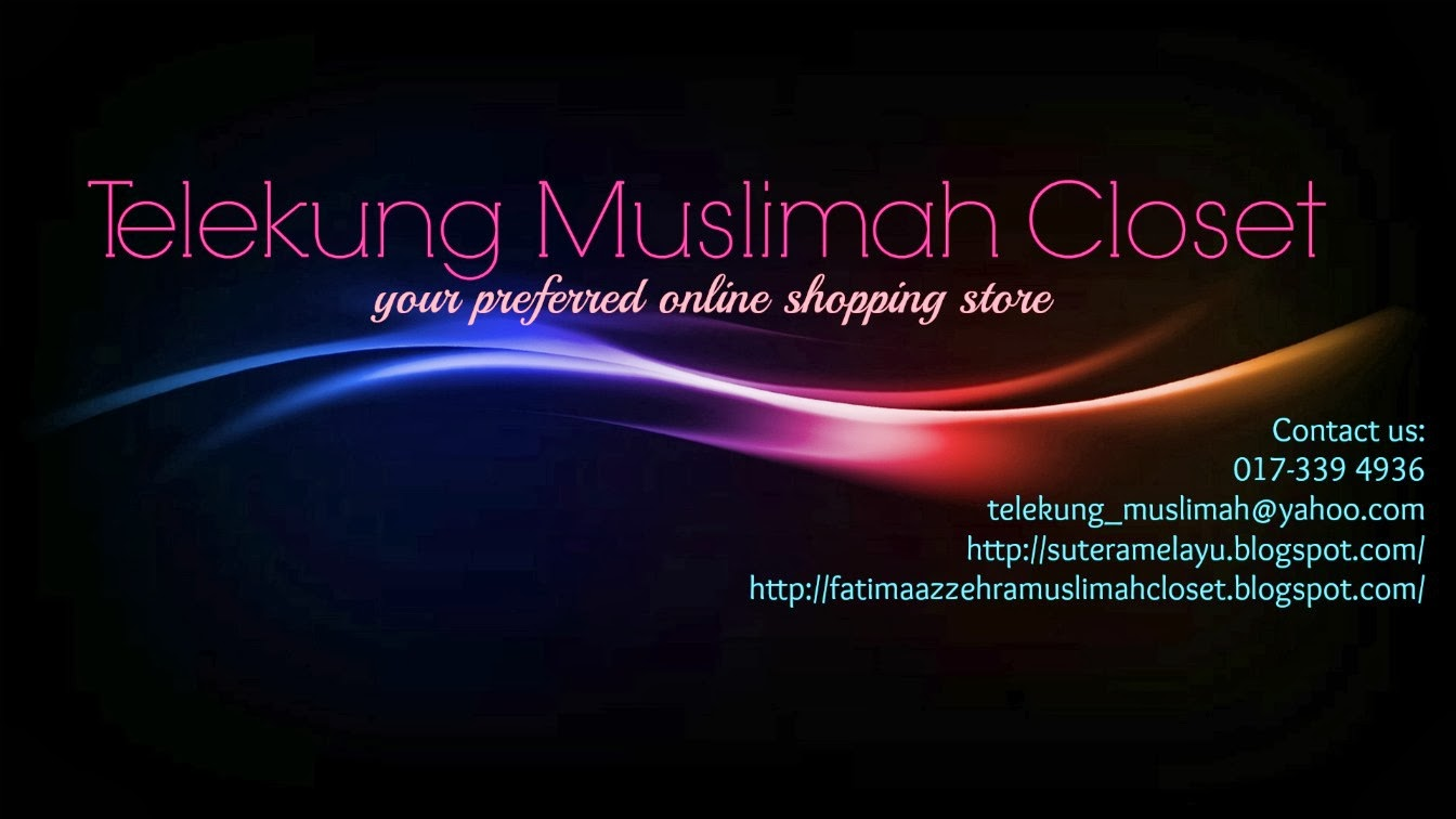 Own by Telekung Muslimah Closet [ 002347150-H ]