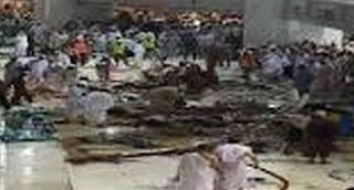 Berita Crane terjatuh di Mekah