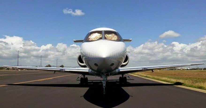 Central Queensland Plane Spotting Shortstop Jet Charter British Aerospace BA