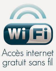 wi-fi gratuit sur tous les emplacements