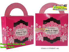 Paper Box Sweet Pink